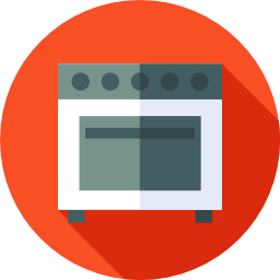 Deep oven cleaning is part of the service