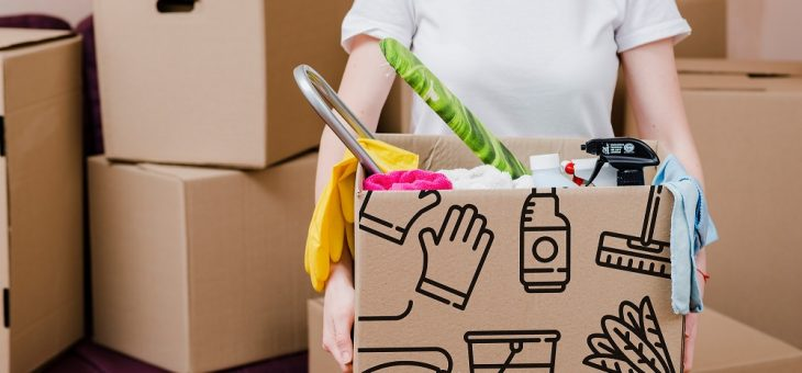 How A Professional Move-In/Out Cleaning Service Can Help You